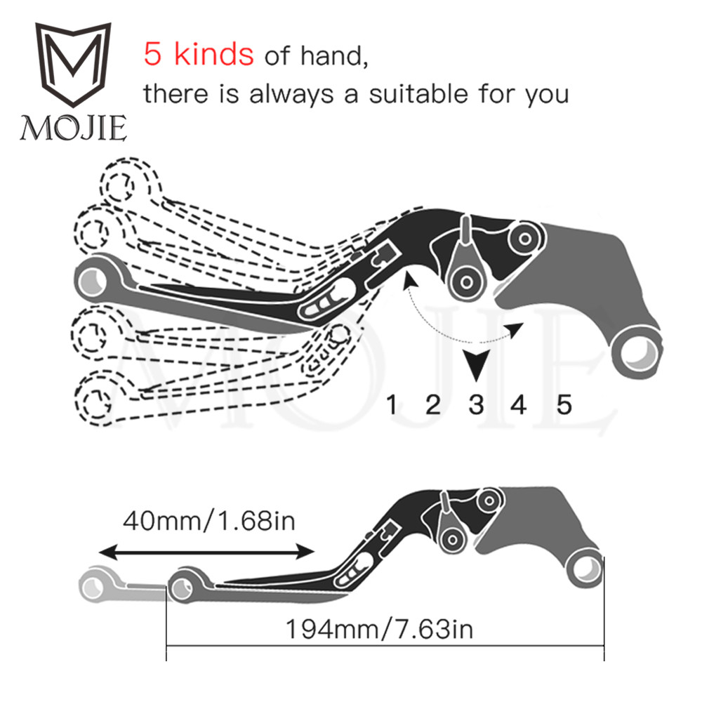 Motorcycle Brake Clutch Levers Handle Bar Hand Grips Lever Guards Vtx 1300 Wiring Diagram Manual Measurement Thanks For Your Understanding 4 Monitors Are Not Calibrated Same Item Color Displayed In Photos May Be Showing Slightly Different