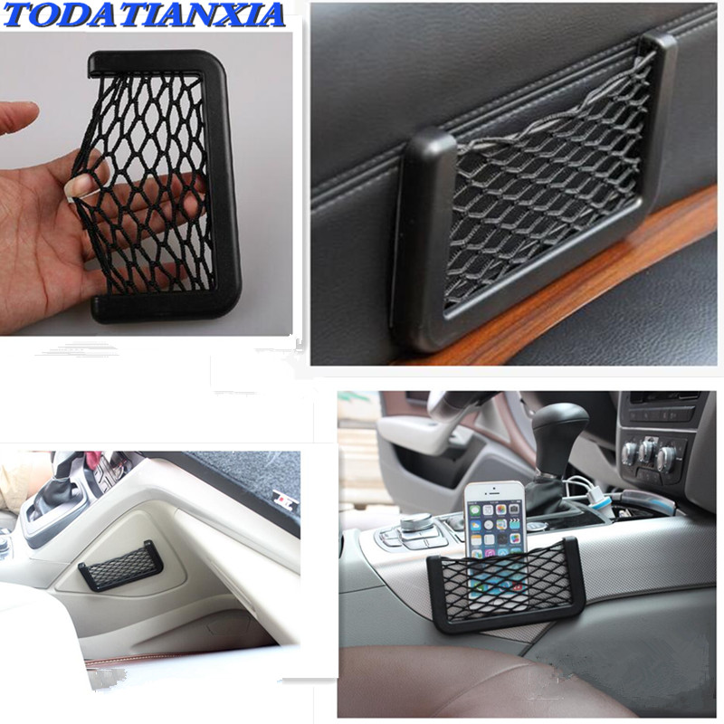 Car Vehicle Storage Nets String Net Mesh Storage for fiat ducato <font><b>vw</b></font> <font><b>touran</b></font> hyundai ix35 jeep renegade opel vectra c image