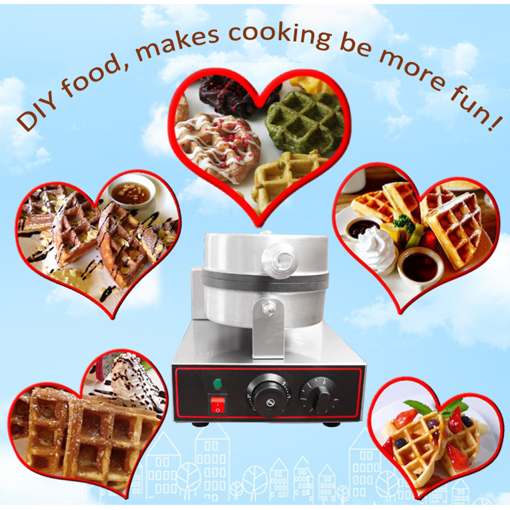 ITOP Commercial Waffle Makers Electric egg bubble waffle maker machine Nonstick eggettes puff bubble egg cake oven in Waffle Makers from Home Appliances