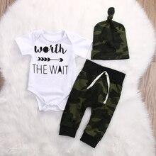 3pcs toddler infant 0-18M Clothing Set