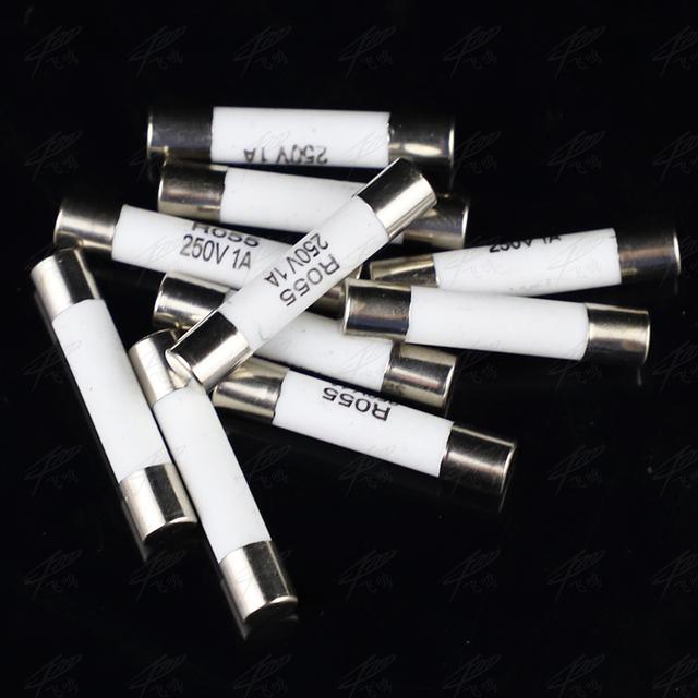 20pcs Ceramic Fuse 5mm x 25mm Slow Blow T 0.5A 1A 2A 3A 4A 5A 6A 8A 10A 13A 15A 16A 20A 250V