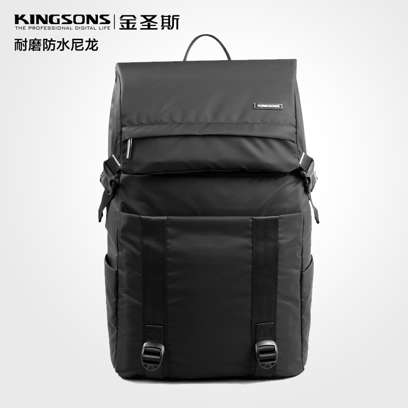 Kingsons men and women's for15.6notebook computer Business package shoulder computer bag laptop Bag Student bag free shipping outdoor sports double shoulder bag student bag computer bag waterproof pack free shipping