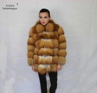 Linhaoshengyue The real import of the Red Fox coat
