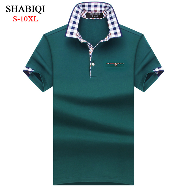 Plaid Collar Polo Shirt 3