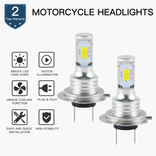 Motorcycle 100W LED Headlight Bulb Lamp For BMW S100RR R1200GS K1300R K1300S K1200R/RS/GT F800R F800GS F700GS F650GS C650GT C600