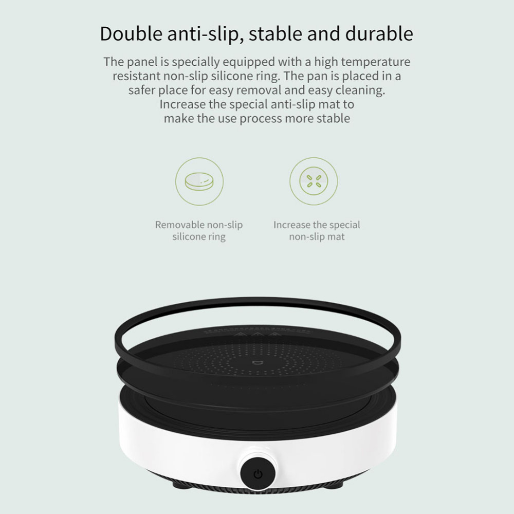 Xiaomi Mijia DCL01CM Induction Cooker Precise Control Heating Cookware Electric Tile Oven Cooktop Plate Stainless Steel Hot Pot (5)