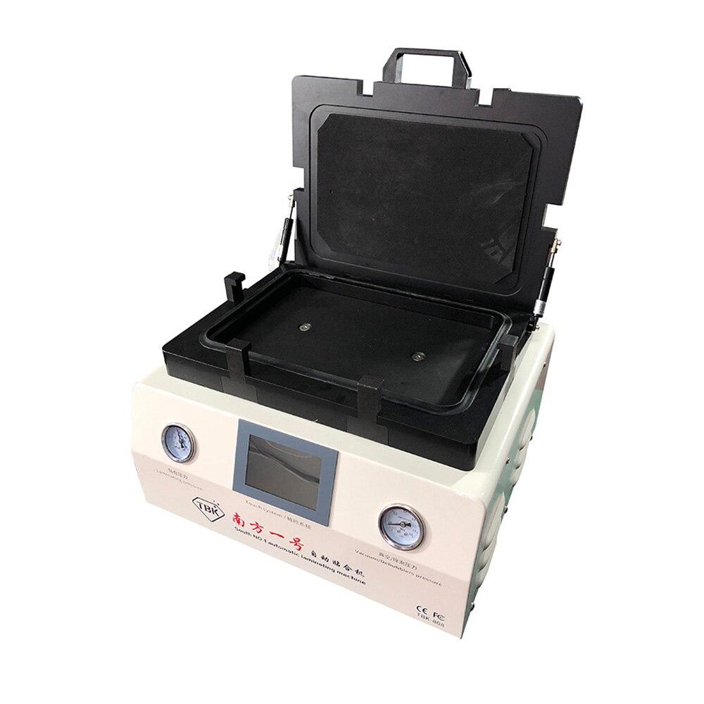 TBK-808 LCD Automatische Laminieren Und Entferner Blase Maschine KEINE Notwendigkeit Verbinden Air Kompressor Und Vakuumpumpe 100% KEINE Blase