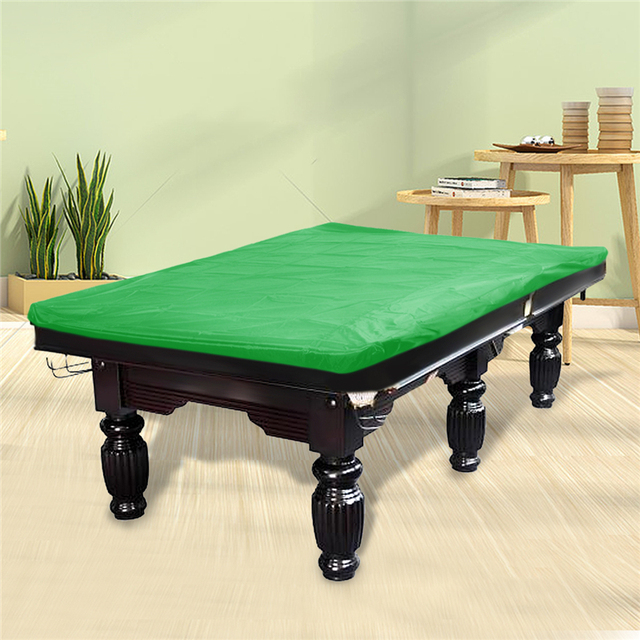 Red/Gray/Brown/Black/Green Polyester Fibre Dust Proof Billiard Protective