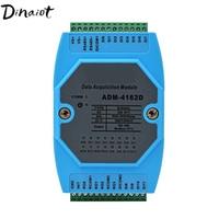 12 Digital input & 4 Output module switch module Isolated RS485 MODBUS RTU Communications DC 9 30V Remote IO module