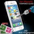Защитное стекло на iPhone 5s 6 7 9 9н 2.5D Ультра Тонкий взрывозащищенный Закаленное Стекло-Экран Протектор Для iPhone4 5 5С 5S SE