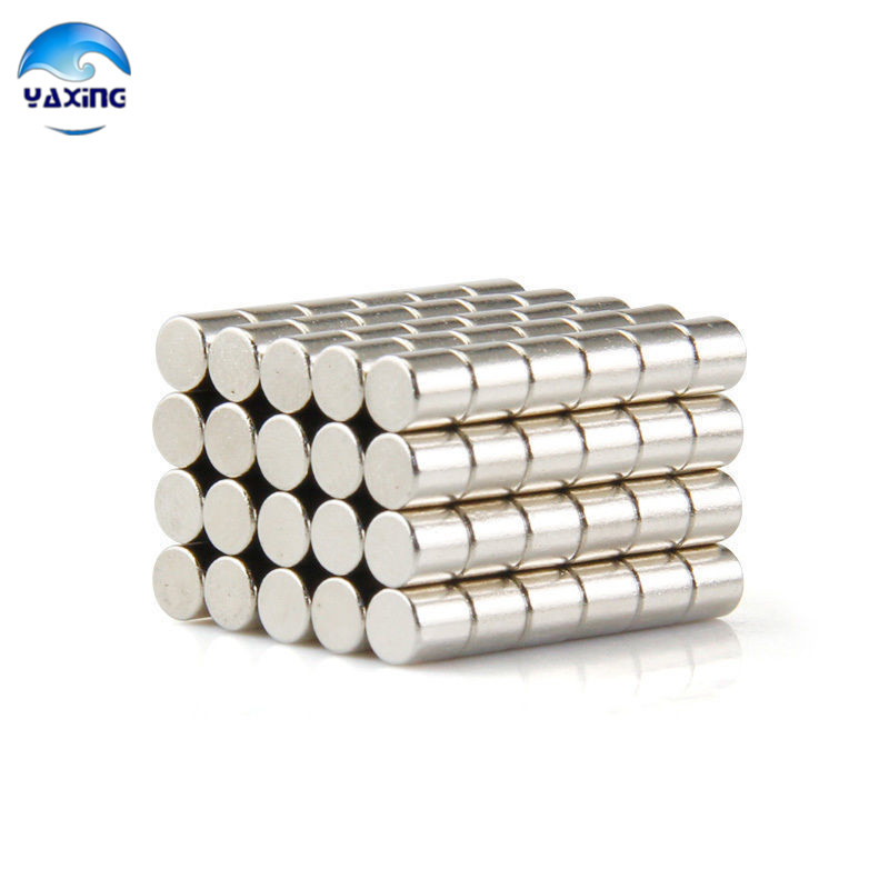 20-500pcs D5X4mm Round Disc Magnets Rare Earth Neodymium Fridge Magnet