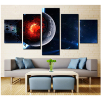 Full Round Square drills Diy Diamond Painting 5 Piece Universe Planet Landscape Diamond Embroidery sale Mosaic StickerZP 1923