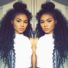New Style Curly Wave Full Lace Wigs 100% Malaysian Virgin Human Hair Bleached Knots Wigs Beautiful Hair Product Lace Front Wigs