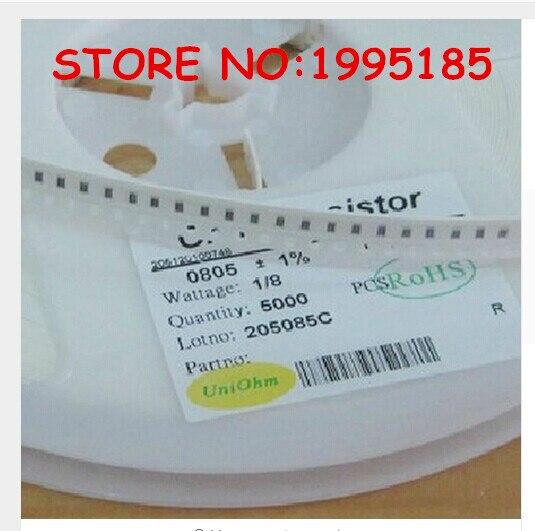 100pcs/lot 0805 SMD Resistor 1% 2.2K 2K2  ohm 2201 2.0*1.6mm Free Shipping