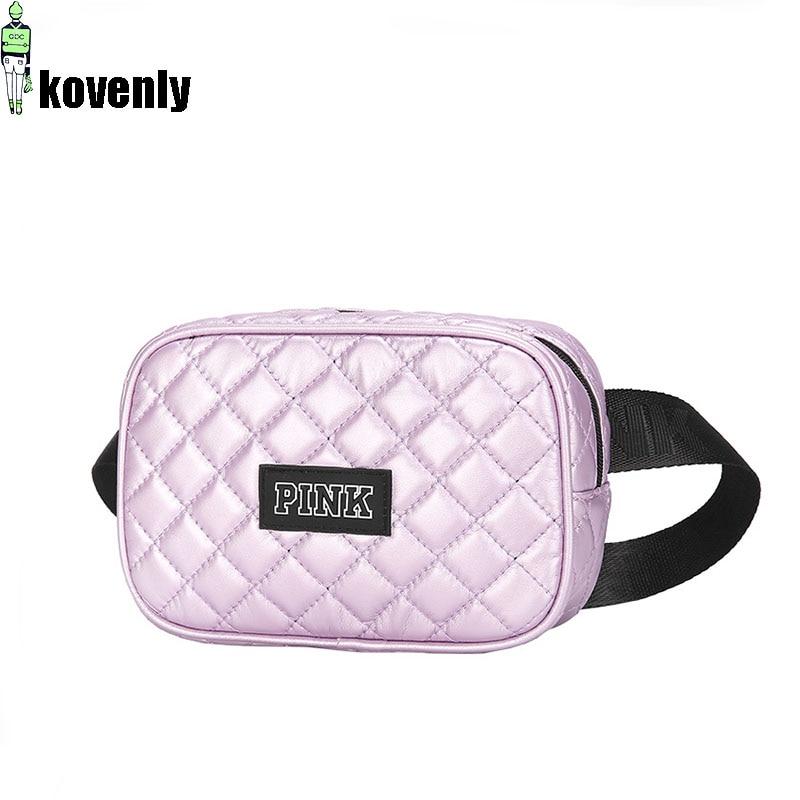 Women Waist Packs Waterproof  Waist Bag PU Leather Fashion Travel Fanny Pack Casual Adjustable Belt Bags Girl Chest Bag 038