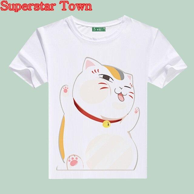 ab81d2a7 Women T-shirt Harajuku Style Summer Anime Femelle Vetements Japanese Kawaii  Clothes Casaul Female Cat T Shirt Kpop Tops Tee