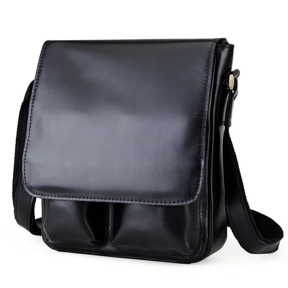 TIDING Men Genuine Leather Fashion Crossbody Chest Messenger Shoulder Bag 10288TIDING Men Genuine Leather Fashion Crossbody Chest Messenger Shoulder Bag 10288