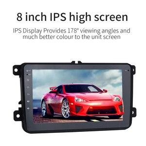 "Image 4 - Dasaita 8 ""Android 10 Auto GPS Radio Player für VW Volkswagen Golf 5 6 Polo Passat Tiguan Jetta EOS sharan Amarok Scirocco Video"