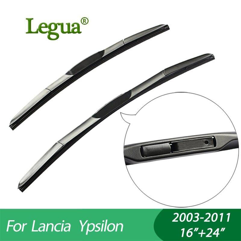 Legua carro limpa lâminas para Lancia Ypsilon (2003-2011), 16