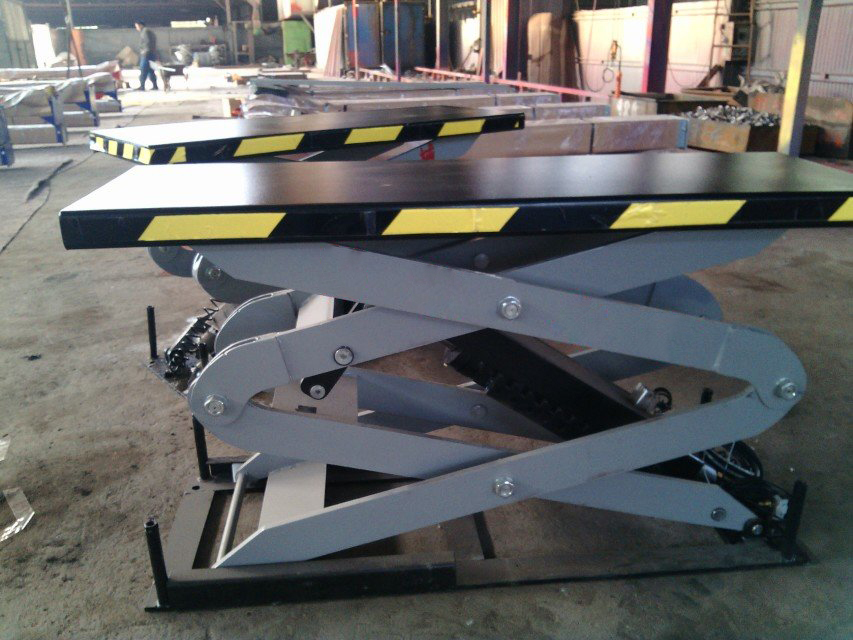 3.5 Ton Scissor Lift In-ground Car Lift Portable Lift With Scissor Type Under Ground Lifting Machine For Car