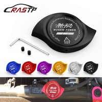 Tapa de protección del radiador de aluminio rojo RASTP adecuada para HONDA Accord Civic CR-V CR-Z CRX City Jazz preludio RS-CAP007