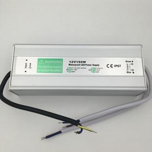 Image 5 - DC 12V LED אספקת חשמל 50W 60W 80W 100W 150W שנאי עמיד למים IP67 נהג עבור חיצוני גן נוף רצועת אור