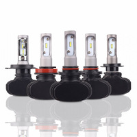 Car Headlight H7 LED H4 H1 H3 H11 H13 HB1 HB2 HB3 HB4 HB5 9003 9004 9005 9006 9007 50W 8000LM 12V Auto Headlamp 6000K Light Bulb
