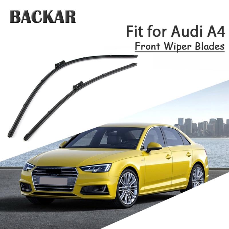 2Pcs//Set Front Windshield Wiper Blades For 2003-2007 Audi A4 B6 B7 S4 RS4 A6 C5