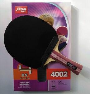 Image 2 - オリジナルdhs 4002 4006卓球ラケット4つ星dhs完成ラケットにきびゴムで高速攻撃ループ