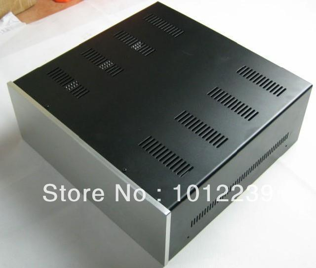Good heat dissipation  Iron and aluminum amplifier chassis, HTPC chassis, Power Box