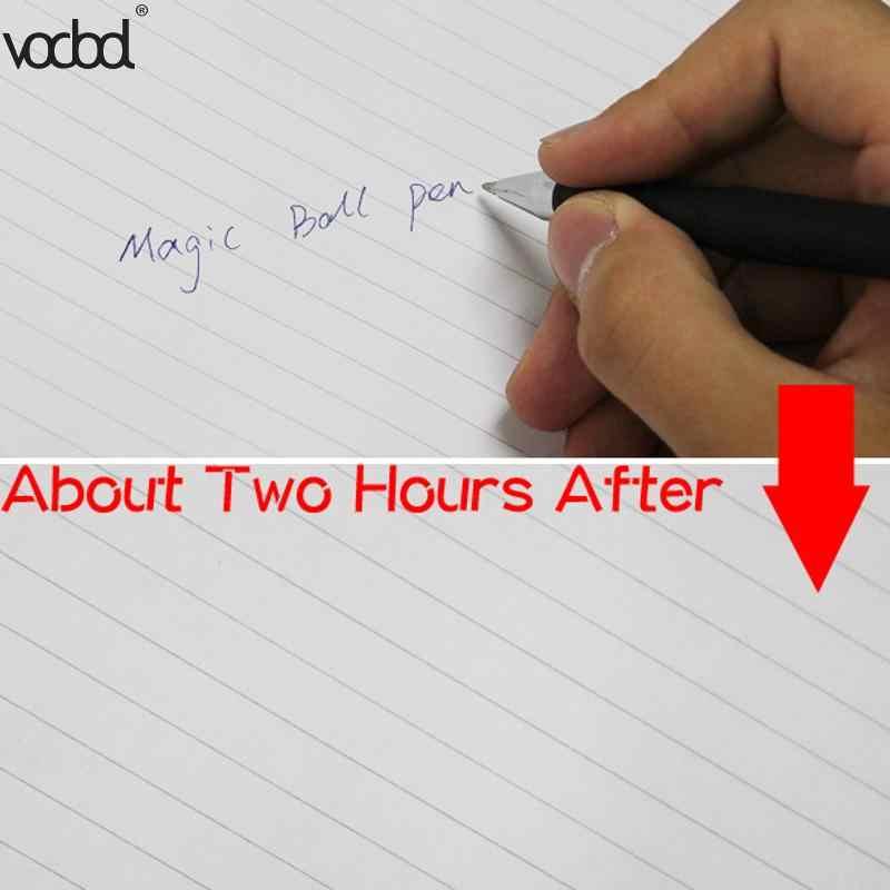 Sihirli Otomatik Ufuk Mürekkep Silinebilir Kalem Yedekler Kiti Tükenmez Kalem Saat Yok Ofis Okul Yazma Kırtasiye Malzemeleri