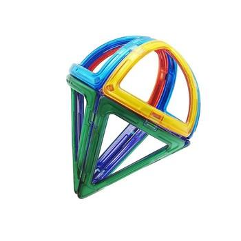 8 sztuk zestaw bloki magnetyczne specjalne elementy 3D DIY cegły budowlane części akcesoria budowlane magnes zabawki edukacyjne tanie i dobre opinie MAGBROTHER Z tworzywa sztucznego SX1098J 4-6Y 7-9Y 10-12Y 13-14Y Magnetic