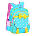 New Cute Girls Children School Bags High Quality Brand Waterproof Nylon Pupils Backpacks Sweet Bowknot Princess Girl School Bags