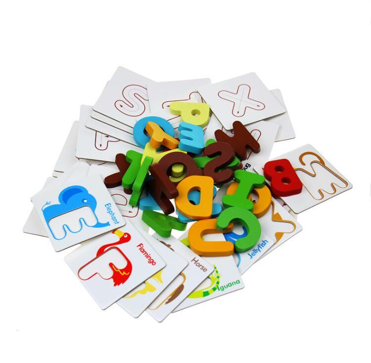 inglês carta cartões flash para crianças de