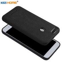 Case for Xiaomi Mi A1 MiA1 KEZiHOME Plush superfine fiber silicone edge back cover for Xiaomi Mi A1 5.5'' Phone cases