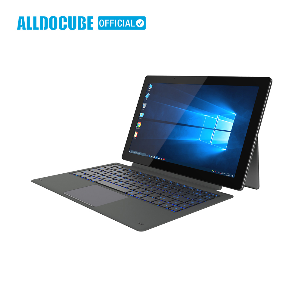 ALLDOCUBE Knote8 2 IN 1 Tablet PC Da 13.3 Pollici di Visualizzazione Completa 2560x1440 IPS Windows10 intel Kabylake 7Y30 8 GB di RAM 256 GB di ROM Micro HDMI