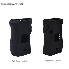 2pcs For Smok MAG 225W left hand right hand Silicone cover case skin sleeve warp sticker Protective Fit SMOK Mag 225W TC box mod