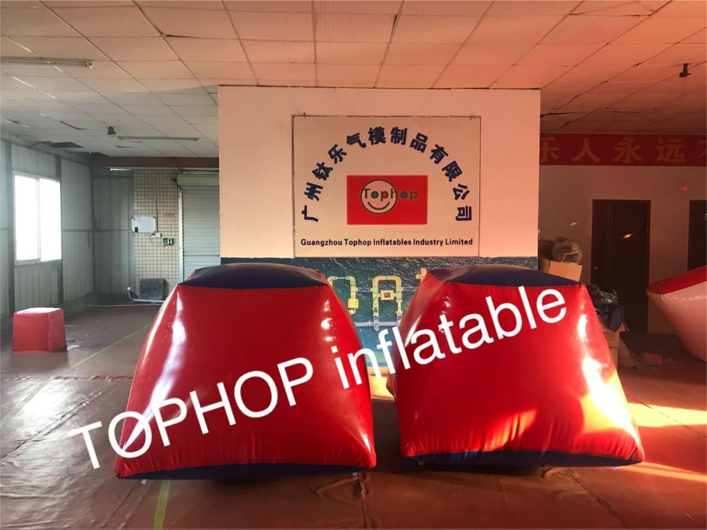 US $585 0 |inflatable paintball Temple bunkers inflatable paintball  arena,millennium field Cylinder paintball bunker with free shipping-in  Inflatable