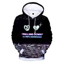 LUCKYFRIDAYF XXX and lilpeep 3D Print Hoodies Sweatshirts Harajuku Fashion Women/Men Sweatshirt Clothes 4XL
