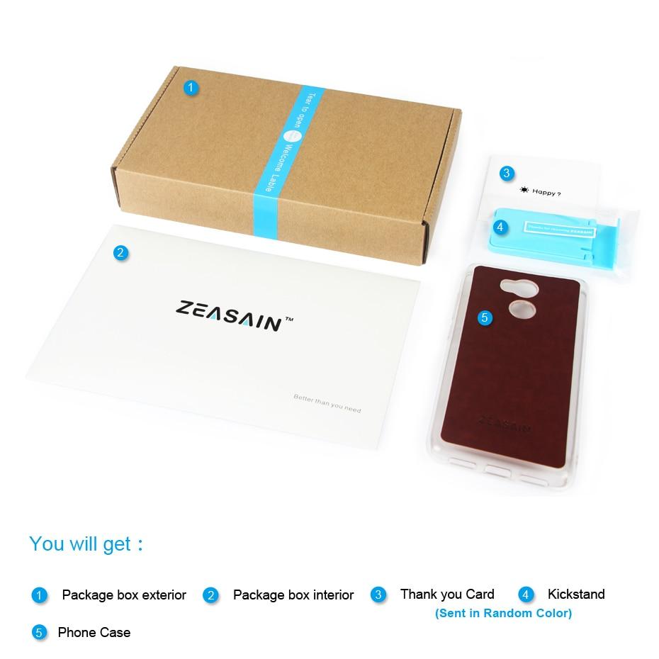 ZEASAIN- ի թափանցիկ հետևի շապիկ Huawei Honor 8 - Բջջային հեռախոսի պարագաներ և պահեստամասեր - Լուսանկար 2