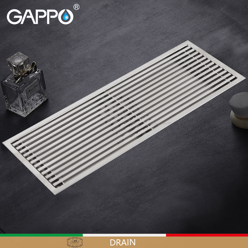GAPPO Drains bathroom floor drains shower strainers bathroom anti-odor bathtub shower drainers stainers