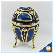 2016 new design Faberge Egg Trinket Box Jewelry Box Royal Gift Birthday Gifts