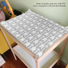 Baby Diaper Changing Pad Table Cover Soft Breathable Waterproof Reusable Diapers Changing Cover For Newborn Infant Changing Mat