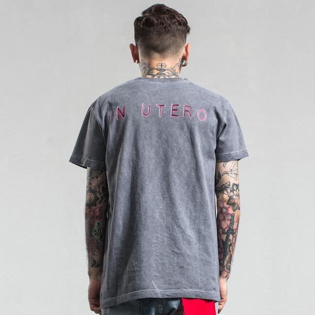 Nirvana Alternative Band Inspire Tees, Summer, Concert, Dress short sleeve cotton T-shirt