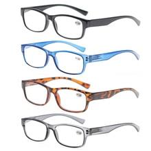 Очки для чтения для мужчин женщин дальнозоркостью унисекс Глаз Модные очки с диоптриями Óculos+ 1 1,5 2 2,5 3 3,5