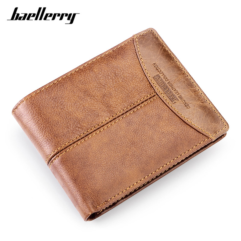 Vintage Men Standard Wallets High Quality Male Small Clutch Purse No Zipper Card Holder Man's Purses with Coin Pocket vintage genuine leather wallet high quality large capacity men s id card wallets with phone bag clutch multifunction male purses