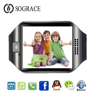 72a0ac5e0146 Bluetooth Y1 inteligente reloj Android deporte SmartWatch llamada de teléfono  GSM Sim cámara de control remoto para IOS Android Teléfono