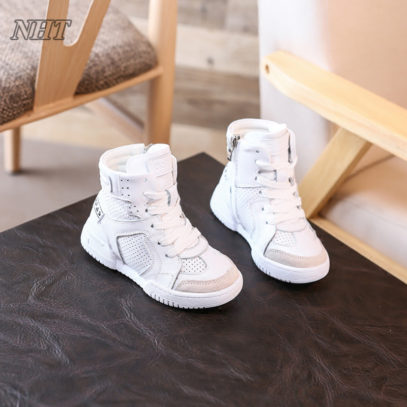 exquisite shoes collection for kids casual boot sneakers white perforated breathable cotton lining boots autumn winter shoe adidas samoa kids casual sneakers