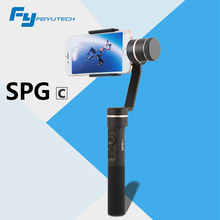 FeiyuTech FY SPG C 3-Axis Handheld Gimbal for Smartphone Stabilizer for Iphone HUAWEI Zoom Button Profeessional selfie stick