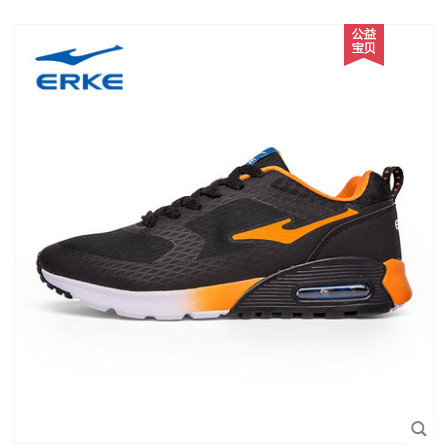 Erke men s shoes running shoes summer 2018 new youth red star erke air  cushion sports shoes 5035601d9ce